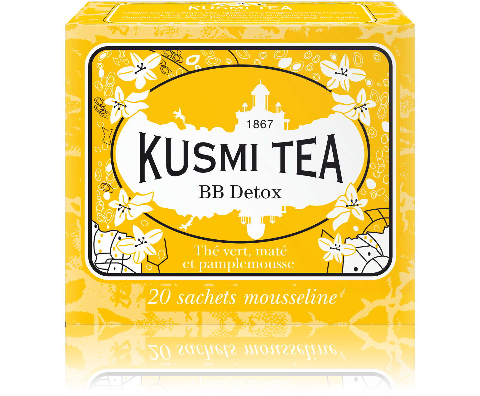 BB Detox, tea blend in muslin tea bags (44 g)