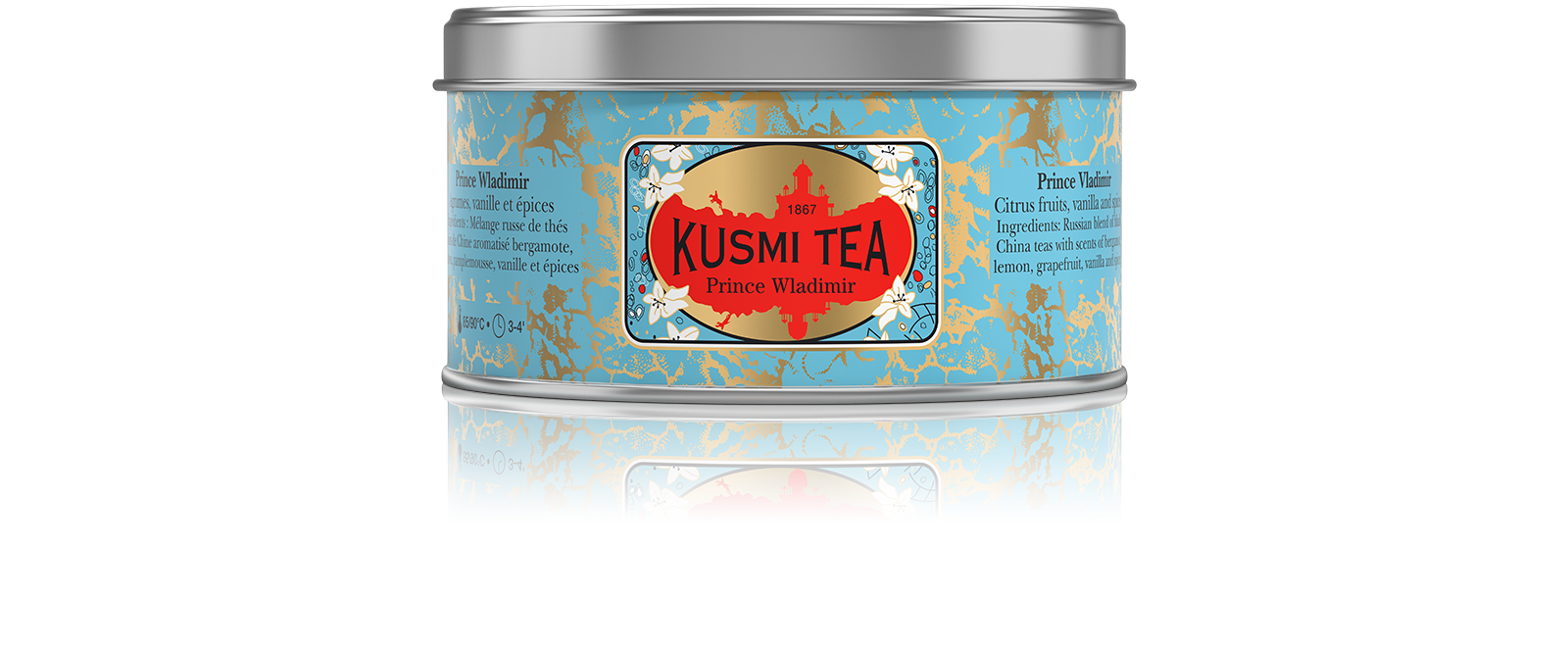Prince Vladimir, tea blend in a metal tin (125 g)